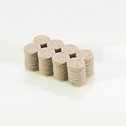 1 Heavy Duty Felt Pads 48-Pack