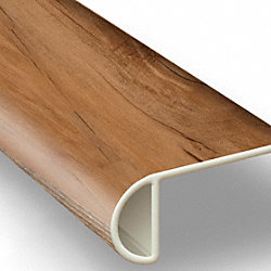 Pioneer Park Sycamore Vinyl Waterproof 2.25 in wide x 7.5 ft Length Low Profile Stair Nose