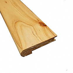 Prefinished Australian Cypress Hardwood 1/2 in thick x 2.75 in wide x 78 in Length Stair Nose