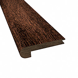 Prefinished Berkeley Brazilian Oak Hardwood 3/8 in thick x 2.75 in wide x 78 Length Stair Nose