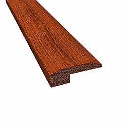 Prefinished Brazilian Cherry Cumaru Hardwood 5/8 in thick x 2 in wide x 78 in Length Threshold