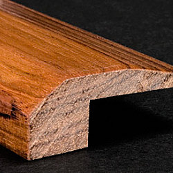 Prefinished Brazilian Cherry Hardwood 5/8 in thick x 2 in wide x 6.5 ft Length Threshold