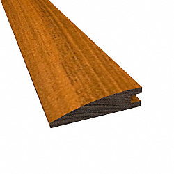 Prefinished Brazilian Walnut Hardwood 1/2 in thick x 2 in wide x 78 in Length Reducer