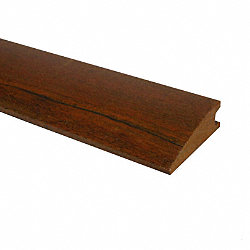Prefinished Brazilian Walnut Hardwood 3/4 in thick x 2.25 in wide x 78 in Length Reducer
