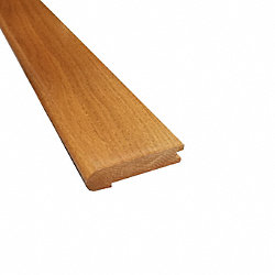 Prefinished Butterscotch Oak Hardwood 3/4 in thick x 3.25 in wide x 78 in Length Stair Nose