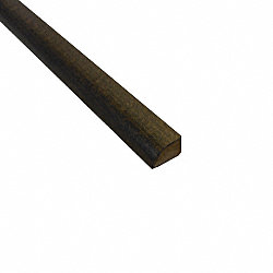 Prefinished Capstone Grey Beech Hardwood 1/2 in thick x .75 in wide x 78 in Length Shoe Molding