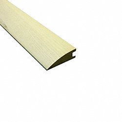 Prefinished Carriage House White Ash Hardwood 3/4 in thick x 3.125 in wide x78 in Length Reducer