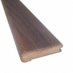Prefinished Distressed Enchanted Hardwood Forest Oak 3/4 in thick x 3.125 in wide x 78 in Length Stair Nose