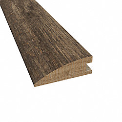 Prefinished Distressed Rattan Maple Hardwood 3/4 in thick x 2.25 in wide x 78 in Length Reducer