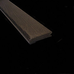 Prefinished Espresso Oak Hardwood 3/4 in thick x 3.125 in wide x 78 in Length Stair Nose