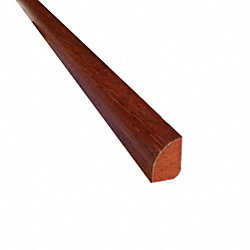 Prefinished Golden Acacia Hardwood 1/2 in thick x .75 in wide x 78 in Length Shoe Molding