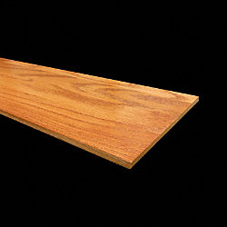 Prefinished Gunstock Oak 11/32 in thick x 7.5 in wide x 48 in Length Retro Fit Riser