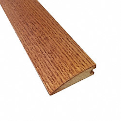 Prefinished Gunstock Oak Hardwood 3/4 in thick x 2.25 in wide x 6.5 ft Length Reducer