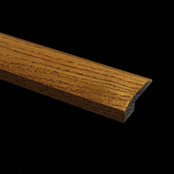 Prefinished Gunstock Oak Hardwood 5/8 in thick x 2 in wide x 6.5 ft Length Threshold