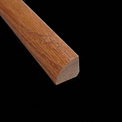 Prefinished Gunstock Red Oak Builder Hardwood 8ft Quarter Round