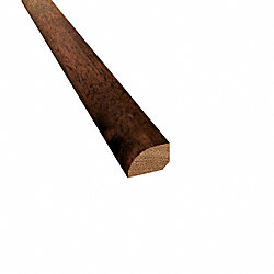Prefinished Hazelnut Acacia Hardwood 1/2 in thick x .75 in wide x 78 Length Shoe Molding