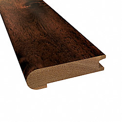 Prefinished Hazelnut Acacia Hardwood 3/4 in thick x 3.125 in wide x 78 in Length Stair Nose