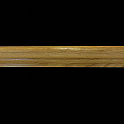 Prefinished Hickory 1 in thick x 1.875 in wide x 14.75 in Length Retro Fit Return