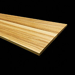 Prefinished Hickory 11/32 in thick x 7.5 in wide x 36 in Length Retro Fit Riser