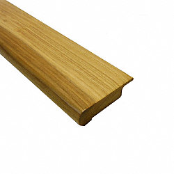 Prefinished Hickory Hardwood 13/16 in thick x 2.75 in wide x 78 in Length Overlap Stair Nose