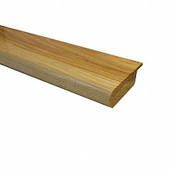 Prefinished Hickory Overlap Hardwood 1/2 in thick x 2.75 in wide x 78 in Length Stair Nose
