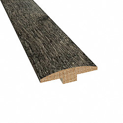 Prefinished Iron Hill Maple Hardwood 1/4 in thick x 2 in wide x 78 in Length T-Molding