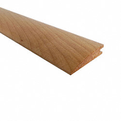 Prefinished Maple Hardwood 1/2 in thick x 2 in wide x 78 in Length Reducer