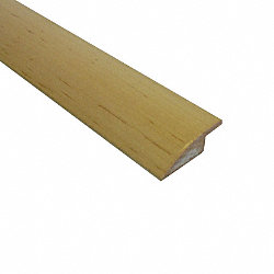 Prefinished Maple Hardwood 3/8 in thick x 2 in wide x 78 in Length Overlap Reducer