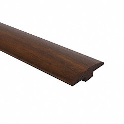 Prefinished Matte American Walnut Hardwood 1/4 in thick x 2 in wide x 78 in Length T-Molding