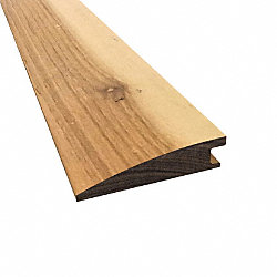 Prefinished Matte Brazilian Pecan Hardwood 1/2 in thick x 2 in wide x 78 in Length Reducer