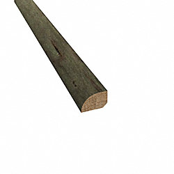 Prefinished Mediterranean Maple Hardwood 1/2 in thick x .75 in wide x 78 in Length Shoe Molding