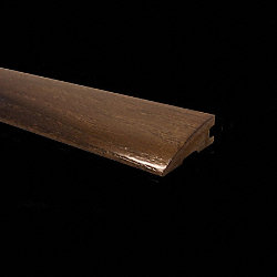 Prefinished Mocha Oak Hardwood 3/4 in thick x 2.25 in wide x 78 in Length Reducer