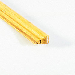 Prefinished Natural Strand Bamboo 1 in thick x 1.75 in wide x 14.75 in Length Retro Fit Return