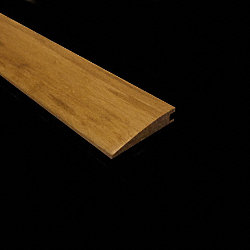 Prefinished Natural Strand Bamboo 1/2 in thick x 2.25 in wide x 72 in Length Reducer
