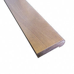 Prefinished Pebble Island Birch Hardwood 3/4 in thick x 3.125 in wide x 78 in Length Stair Nose