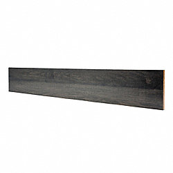 Prefinished Pewter Maple 3/4 in thick x 7.5 in wide x 48 in Length Riser