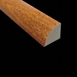 Prefinished Poplar Cinnamon Hardwood 8 ft Builder Quarter Round