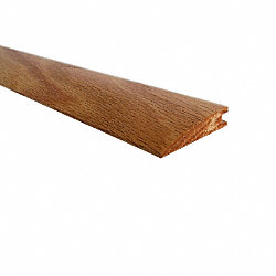 Prefinished Red Oak Hardwood 1/2 in thick x 2 in wide x 78 in Length Reducer