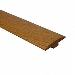 Prefinished Red Oak Hardwood 1/4 in thick x 2 in wide x 78 in Length T-Molding