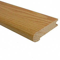 Prefinished Red Oak Hardwood 3/4 in thick x 3.125 in wide x 78 in Length Stair Nose