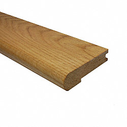 Prefinished Red Oak Hardwood 3/4 in thick x 3.25 in wide x 6.5 ft Length Stair Nose