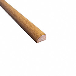 Prefinished Spice Hickory Hardwood 1/2 in thick x .75 in wide x 78 in Length Shoe Molding