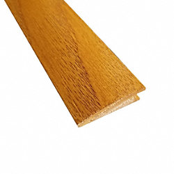 Prefinished Spice Red Oak Hardwood 3/8 in thick x 1.5 in wide x 78 in Length Reducer