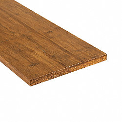 Prefinished Strand Carbonized Bamboo 5/8 in thick x 7.5 in wide x 48 in Length Retro Fit Riser