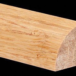 Prefinished Strand Natural Bamboo 3/4 in thick x .75 in wide x 6 ft Length Quarter Round