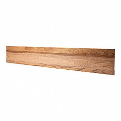 Prefinished Walnut Hickory 3/4 in thick x 7.5 in wide x 48 in Length Riser