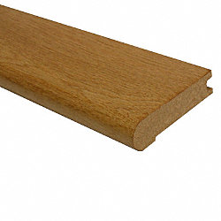 Prefinished White Oak Hardwood 3/4 in thick x 1/8 in wide x 78 in Length Stair Nose