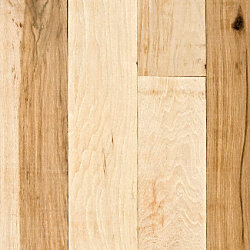 3/4 x 2-1/4 Hickory Unfinished Solid Hardwood Flooring