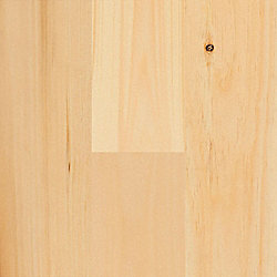 3/4 x 5-1/8 x 6 New England White Pine Unfinished Solid Hardwood Flooring