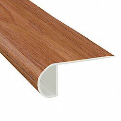 Rainier Cherry Vinyl Waterproof 2.25 in wide x 7.5 ft Length Low Profile Stair Nose